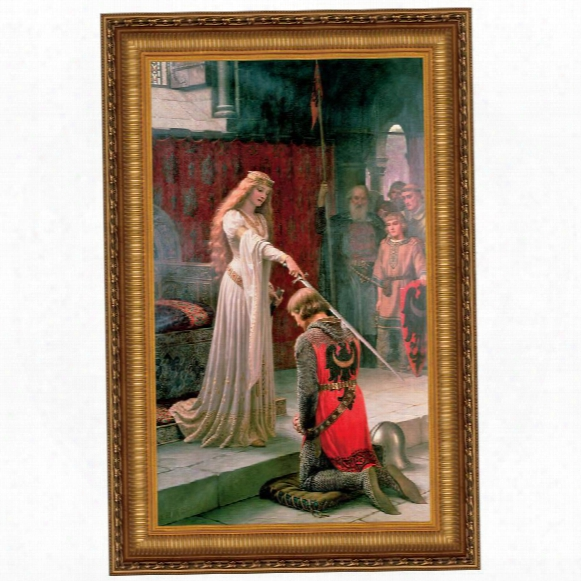 The Accolade, 1901, Canvas Replica Painting: Small
