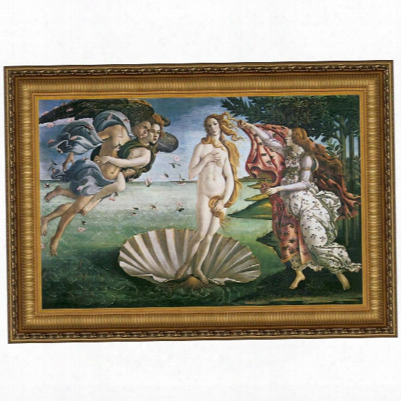 The Birth Of Venus, 1485, Canvas Replica Painting: Grande