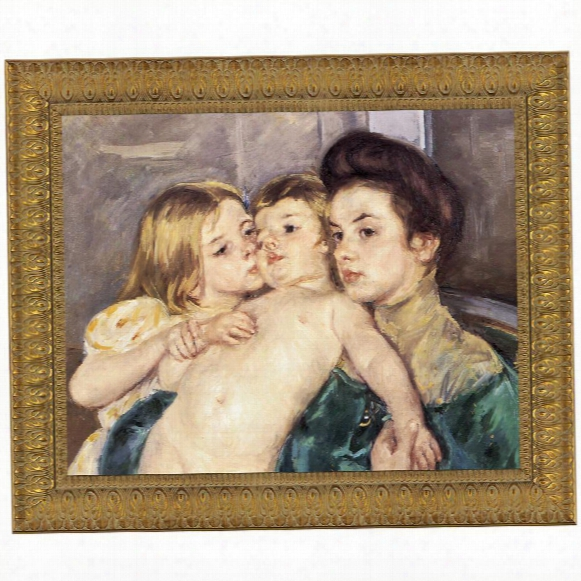 The Caress Canvas Repliac Painting: Small