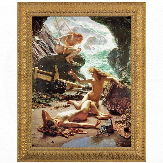 Thee Cave Of The Storm Nymphs Canvas Replica Painting: Grande