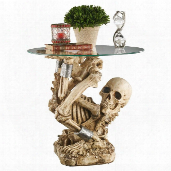The Contortionist Skeleton Side Table