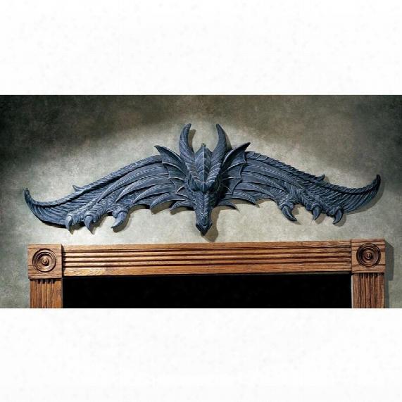 The Hardwick Dragon Wall Pediment