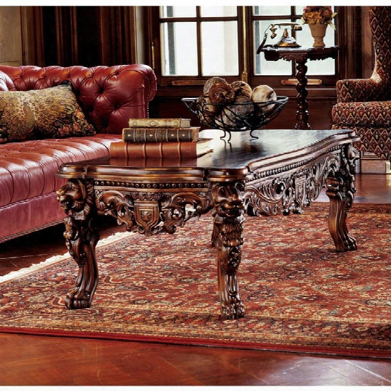 The Lord Raffles Grand Hall Lion Leg Coffee Table