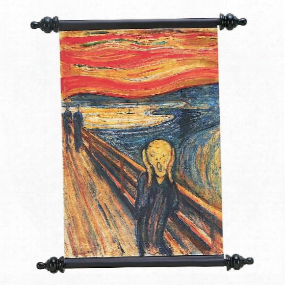 The Silent Scream (1893) Canvas Wall Scroll