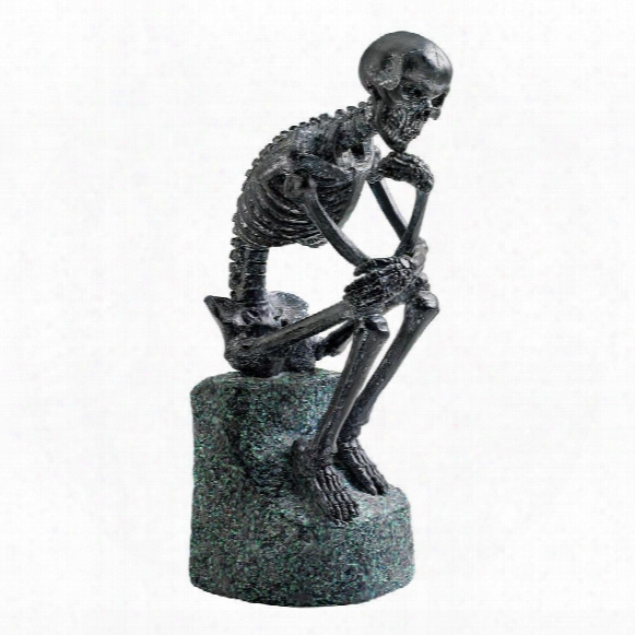 The Skeleton Thinker Statue
