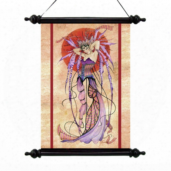 The Witching Moon Canvas Wall Scroll