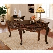 La Voute Grande Crescent Mahogany Executive Desk