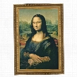Mona Lisa, 1503-1506 Canvas Replica Painting: Grande
