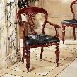 Simsbury Manor Leather Arm Chair