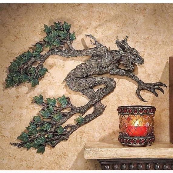 Tree Spirit Of Sleepy Hollow Wall Sculpture
