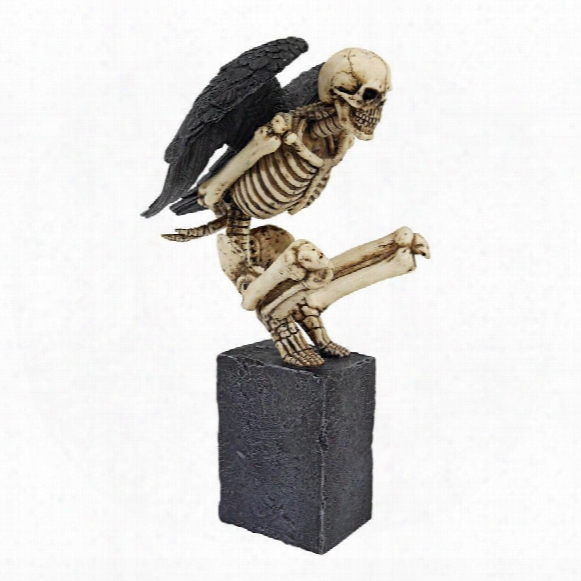 Twilight Roost Winged Skeleton Statue