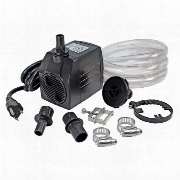 Ul-listed, Indoor/outdoor, 400 Gph Pump Kit