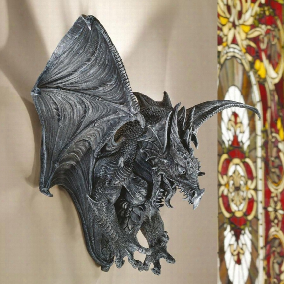 Vengeance, The Dragon Wall Sculpture