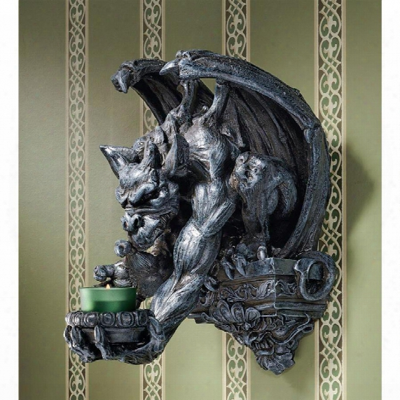 Whitechapel Manor Gargoyle Wall Sconce