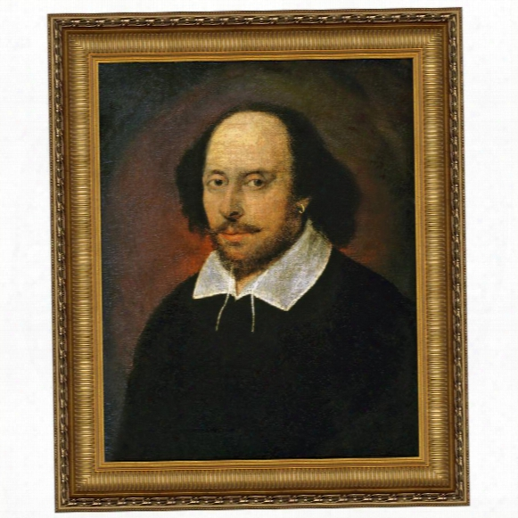 William Shakespeare Canvas Replica Painting: Large