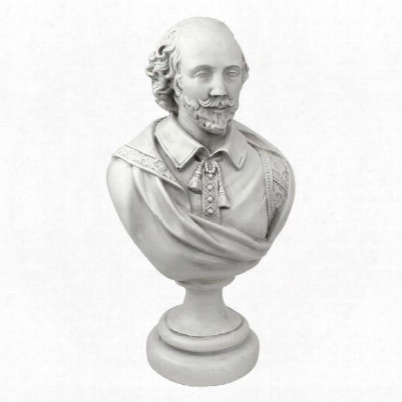 William Shakespeare Sculptural Bust: Desktop