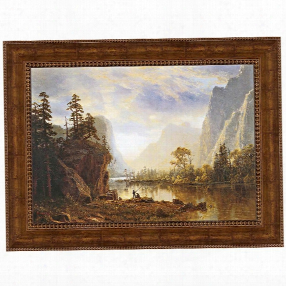 Yosemite Valley, 1863 Canvas Replica Painting: Small