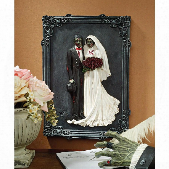 "Zombie Wedding"" Wall Sculpture"