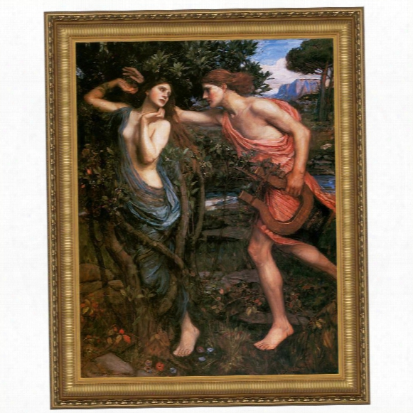 Apollo And Daphne, 1908: Canvas Replica Painting: Grande