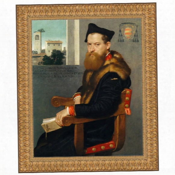 Bartolommeo Bonghi, 1553: Canvas Replica Painting: Medium