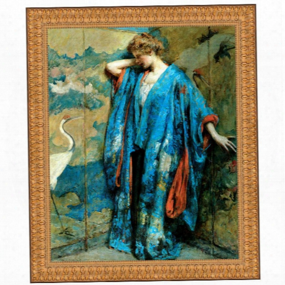 Blue And Yellow, 1910 Canvas Replica Painting: Grande