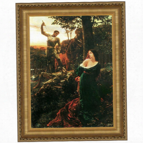 Chivalry, 1885, Canva Sreplica Painting: Grande