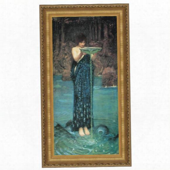 Circe Invidiosa, 1892 Canvas Replica Painting: Grande