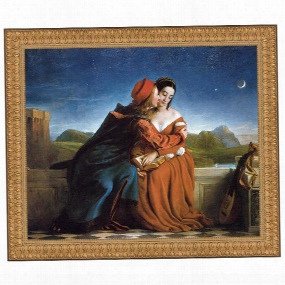 Francesca Da Rimini, 1837: Canvas Replica Painting: Grande