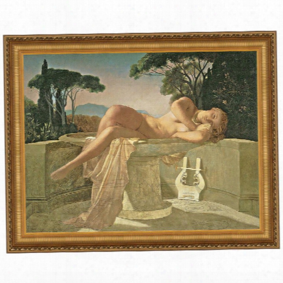Girl In A Basin, 1845 Canvas Replica Painting: Large