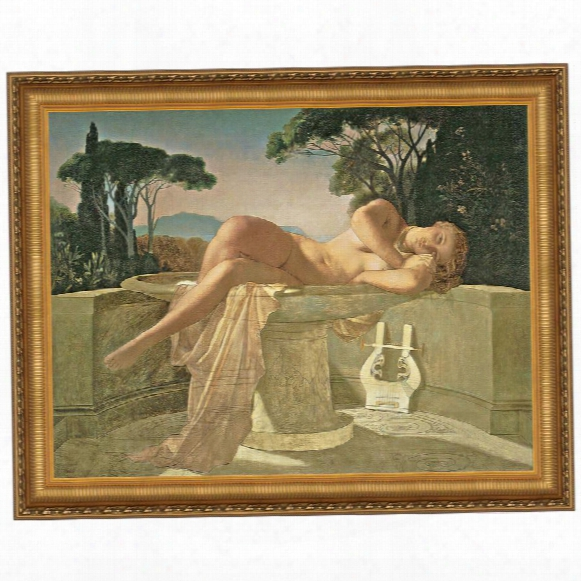 Girl In A Basin, 1845 Canvas Replica Painting: Medium