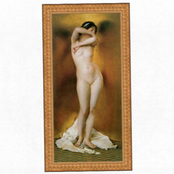 Glow Of Gold, Gleam Of Pearl, 1906, Canvas Replica Painting: Grande