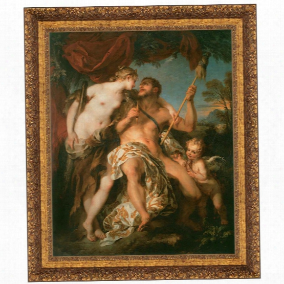 Hercules And Omphale, 1724, Canvas Replica Painting: Grande