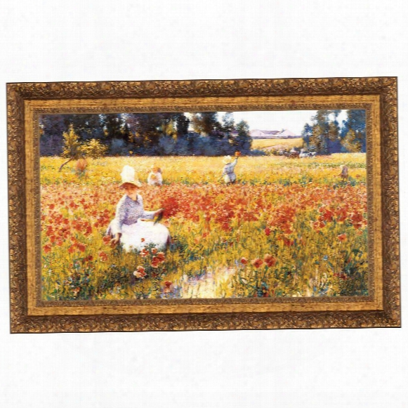 In Flanders Field Where Soldiers Sleep And Poppies Grow, 1890: Canvas Replica: Grande