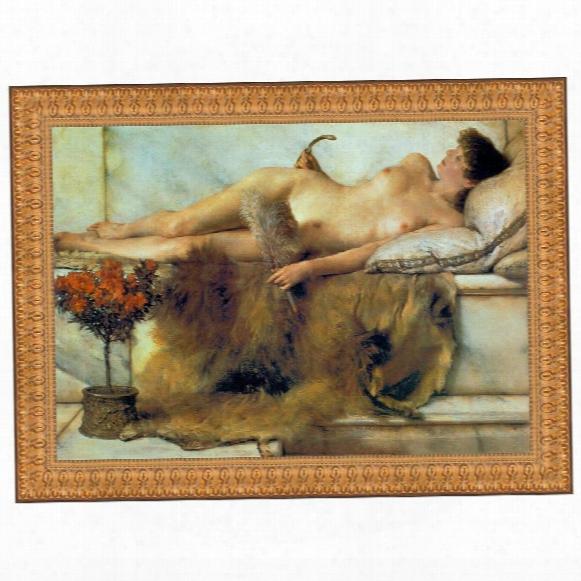 In The Tepidarium, 1881, Canvas Replica Painting: Grande