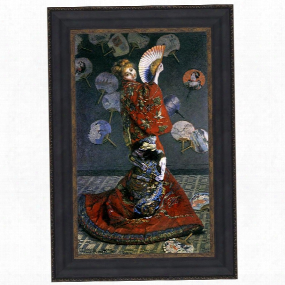 La Japonaise, 1876: Canvas Replica Painting: Grande