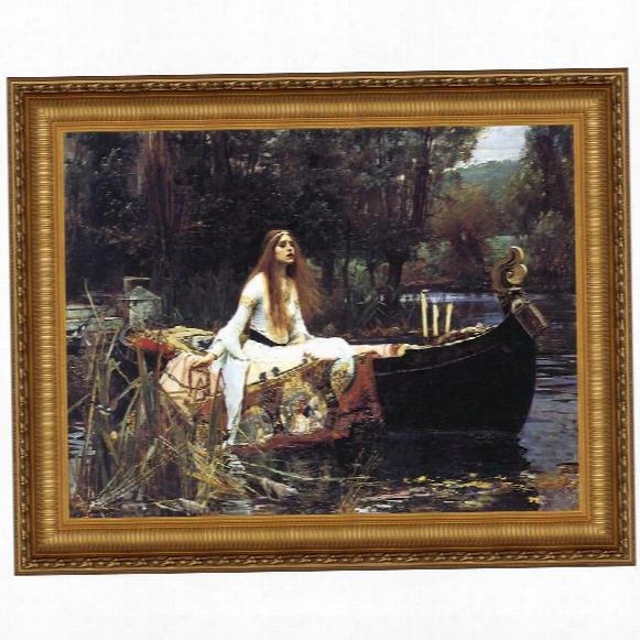 Lady Of Shalott, 1888, Canvas Replica Painting: Grande