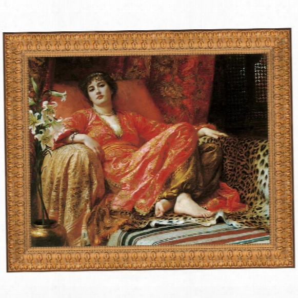 Leila (passion), 1892: Canvas Replica Painting: Grande