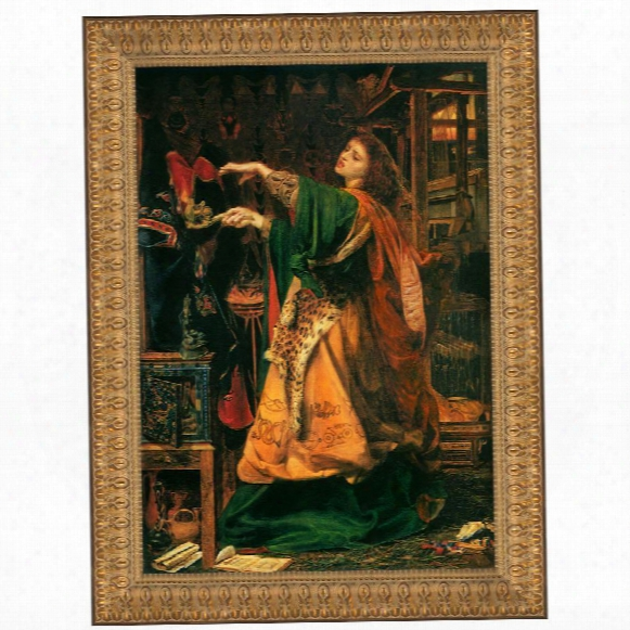 Morgan Le Fay, 1864, Canvas Replica Painting: Grande