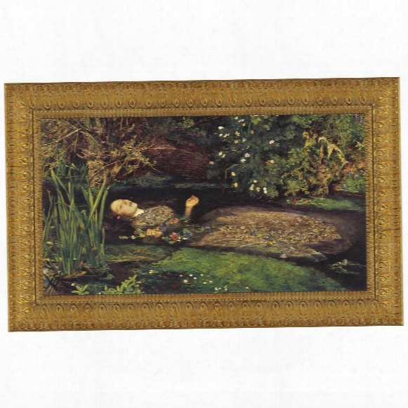 Ophelia, 1851-52, Canvas Replica Painting: Small