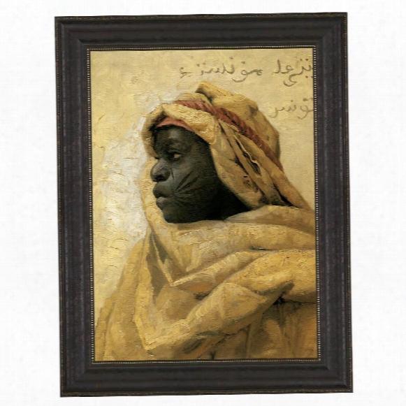 Portrait Of A Nubian, 1886: Canvas Replica Painting: Grande