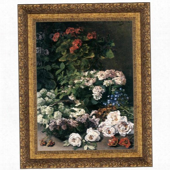 Spring Flowers, 1864: Canvas Replica Painting: Grande
