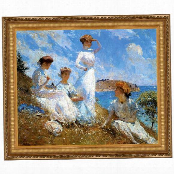 Summer, 1909 Canvas Replica Painting: Grande