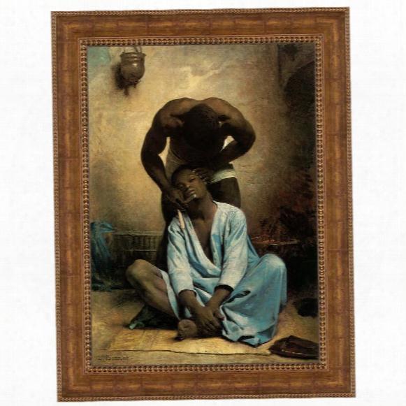 The Barber Of Suez, 1876: Canvas Replica Painting: Grande
