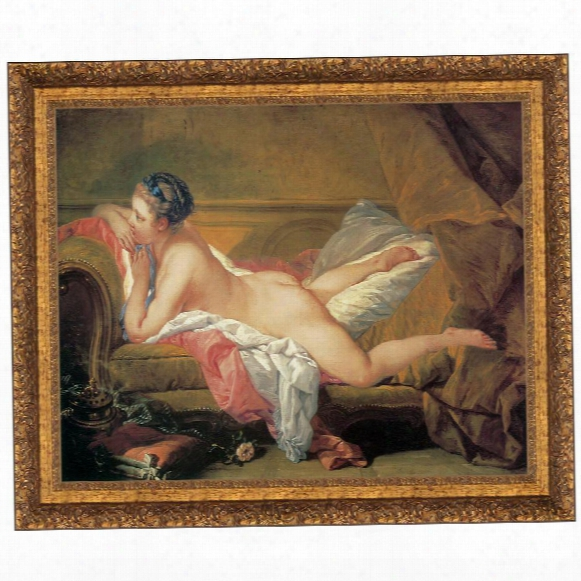 The Blond Odalisque, 1752, Canvas Replica Painting: Small