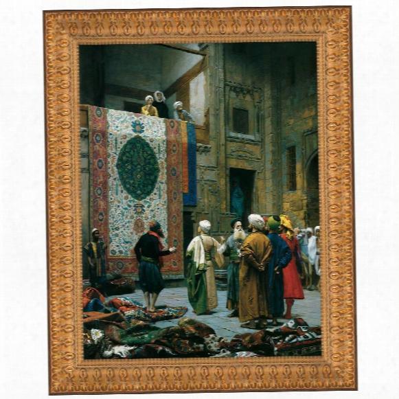 The Carpet Merchant, 1887: Canvas Replica Painting: Grande