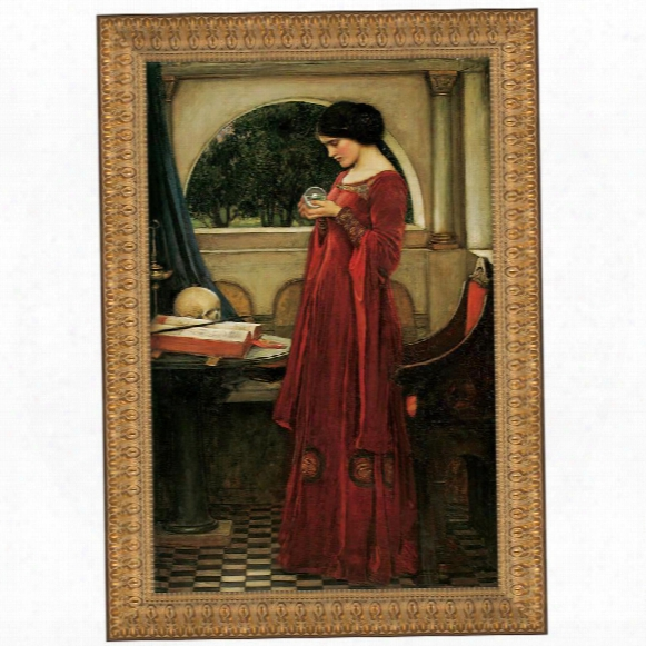 The Crystal Ball, 1902, Canvas Replica Painting: Grande