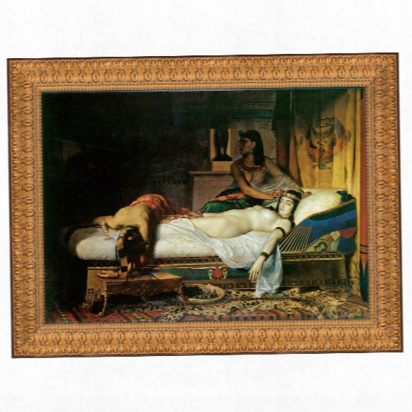 The Death Of Cleopatra, 1874: Canvas Replica Painting: Grande
