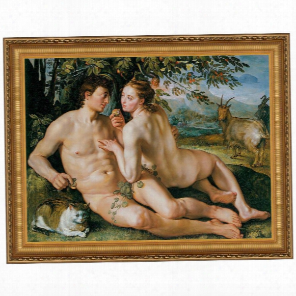 The Fall Of Man, 1616, Canvas Replica Painting: Grande