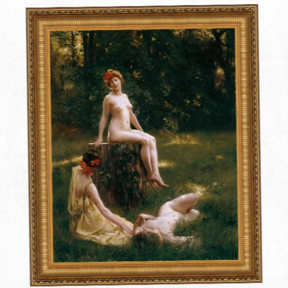 The Glade, 1900, Canvas Replica Painting: Grande