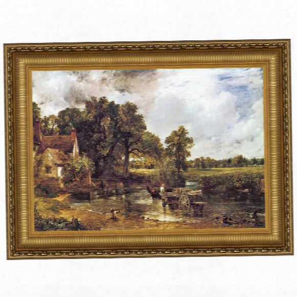 The Hay Wain, 1821, Canvas Replica Painting: Grande